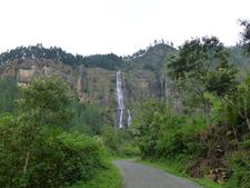 Bambarakanda Falls Sri Lanka 1