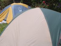 Camping Area With Good Tents