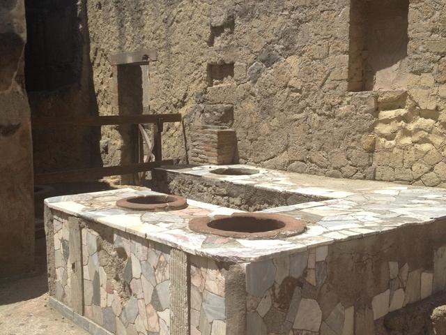 Ancient Herculaneum Archaeological Site Photos