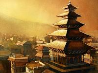 Nepal Temple Ryan Fox