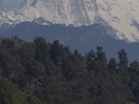 View Of Ganesh Himal From Jyamrung