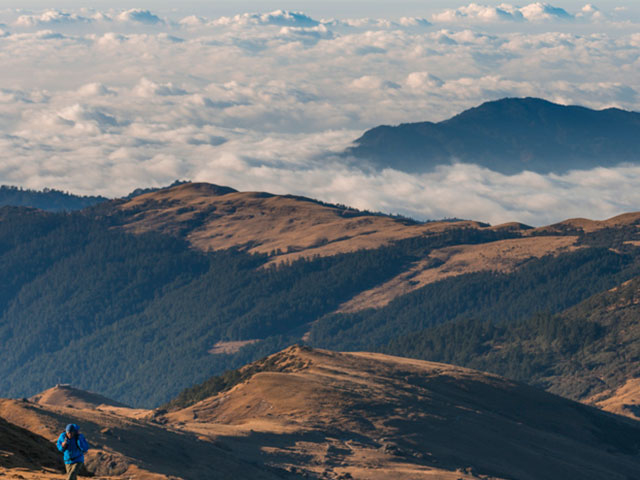 Pikey Peak Trek and Volunteering Photos