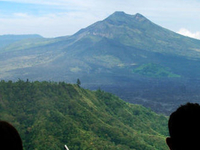 Lunch With Batur Mount\'s View