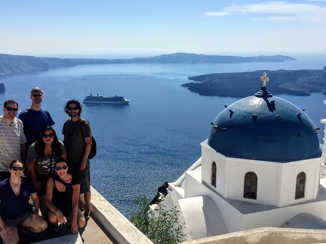 Santorini Hiking Trail Photos