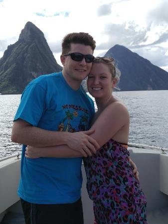 Saint Lucia Speed Boat Tour Photos