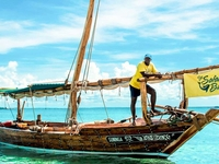 Guide On One Of Our Dhows