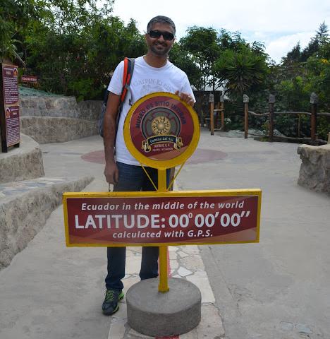 Quito Oldtown & Equator Line Photos