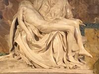 Michelangelo\'s Pietà Inside St. Peter\'s Basilica