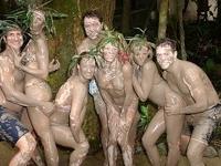 Volcanic Mud Bath