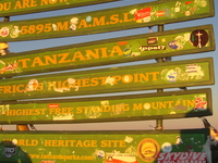 The Sign At The Top Of Africa