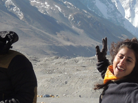 Travelers In Front Of Mt Everest For Youtube