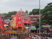 Puri Temple With Rathyatra