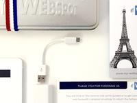 Packaging My Webspot