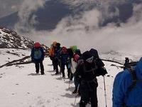 On The Way To Kilimanjaro Peak
