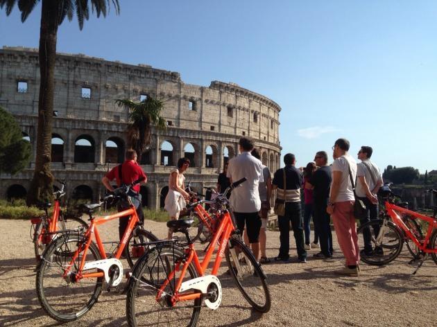 Civitavecchia Shore Excursion: Rome by Bike Photos