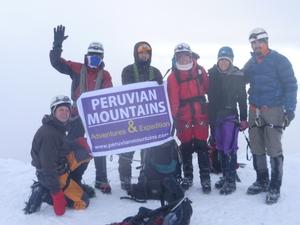 Urus, Ishinca, Tocllaraju Climbing Peru
