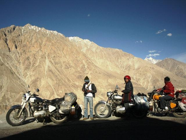 Leh Motorbiking Tour Photos