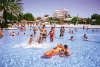 Aqualand El Arenal Water Park on Mallorca Photos