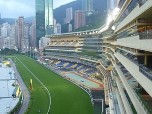 Horse Racing at the Hong Kong Jockey Club Happy Valley Photos
