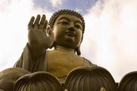 Hong Kong Shore Excursion: Lantau Island Big Buddha and Outlets Shopping Tour Photos