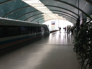 Arrival Transfer by High-Speed Maglev Train: Shanghai Pudong International Airport to Hotel Photos