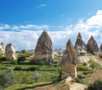 Southern Cappadocia Tour: Cavusin, Red Valley, Kaymakli Underground City and Pigeon Valley Photos