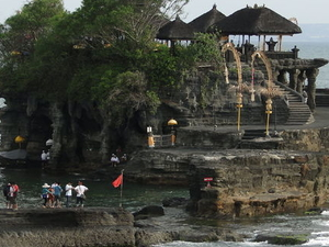 Bali Monkey Forest, Mengwi Temple and Tanah Lot Afternoon Tour Photos