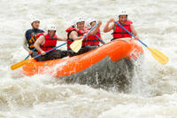 Zambezi River Rafting and River Boarding Adventure from Victoria Falls Photos