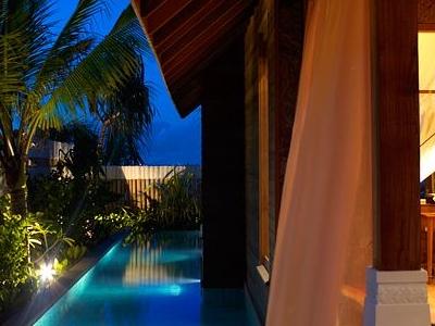 Exterior Private Pool Night