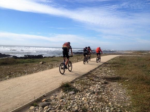 Camino de Santiago - Portuguese Coastal Way Bike Tour Photos
