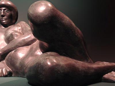 Vasco Prado: Model Resting, Bronze (1988)