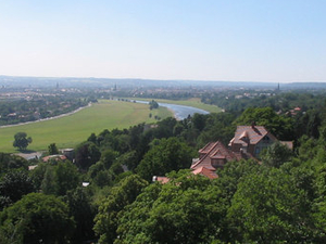 Valle del Elba en Dresde