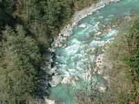 Trail Lukla para Phakding