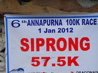Annapurna 100k Race 57.5k Siprong