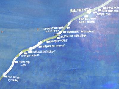 Banthanti Lodge Map