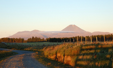 Mount Ngauruhoe At Sunset
