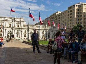 Santiago Highlights: Afternoon Walking Tour Photos