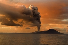 Tavurvur's 2009 Eruption - Papua New Guinea