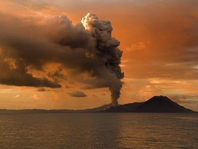 Tavurvur's 2009 Eruption - Papua New Guinea