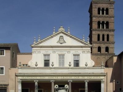 Facade Of Santa Cecilia