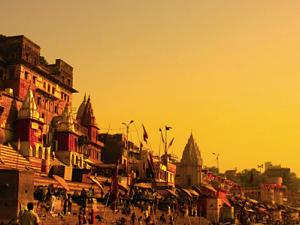 The Golden Triangle including Banaras Ajanta Ellora Caves Tour