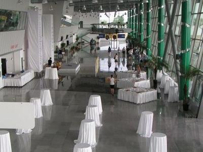 The New Passenger Terminal (interior)