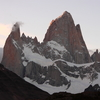 Monte Fitz Roy At Sunset