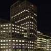 1 Cabot Square In The Night