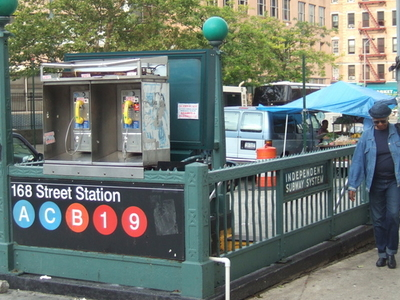 168th Street Station Subway