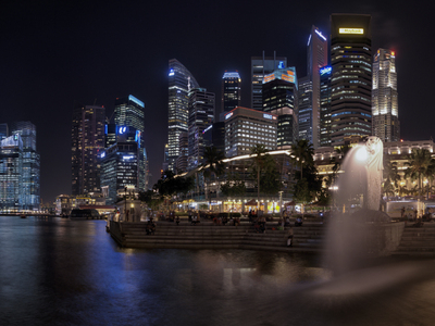 The Merlion Park