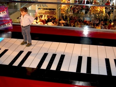 The Walking Piano