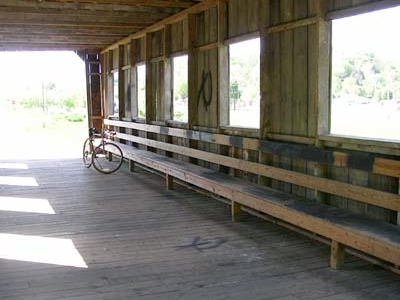 Inside The Covered Bridge At Scio