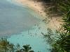 Kee  Beach From  Kalalau  Trail