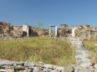 Ruins Of The First Greek Colony In The Region